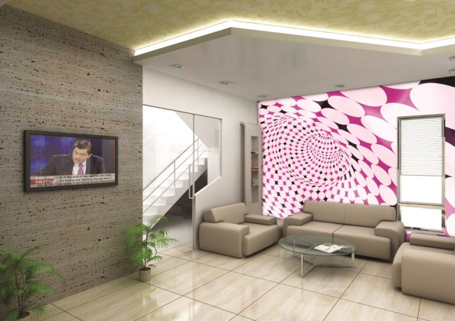 Wedowallpaper, feature wallpaper, office interior, commercial wallpaper, reception wallpaper
