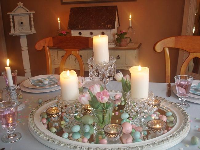 Robin's Egg Blue Dining Room