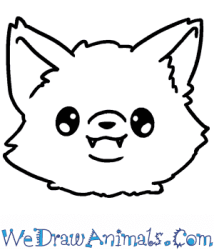 How to Draw a Baby Wolf Head