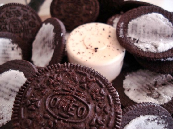 oreos to be crushed