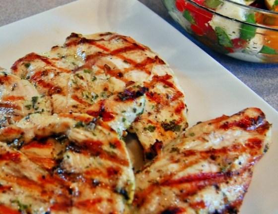 garlic chicken main