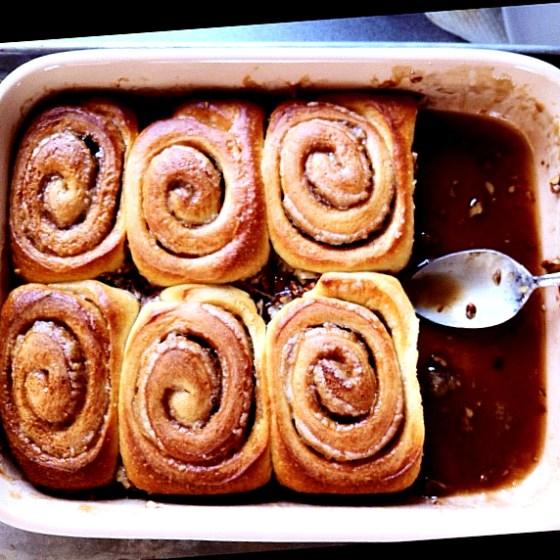 sticky buns flour bakery