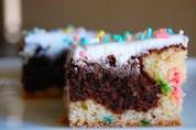 Brownie Swirl Cake