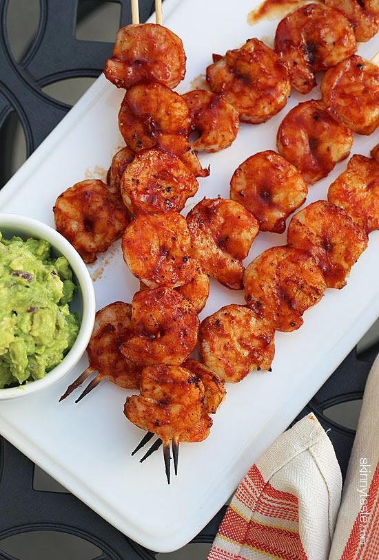 Quick-Grilled-BBQ-Shrimp-Recipe