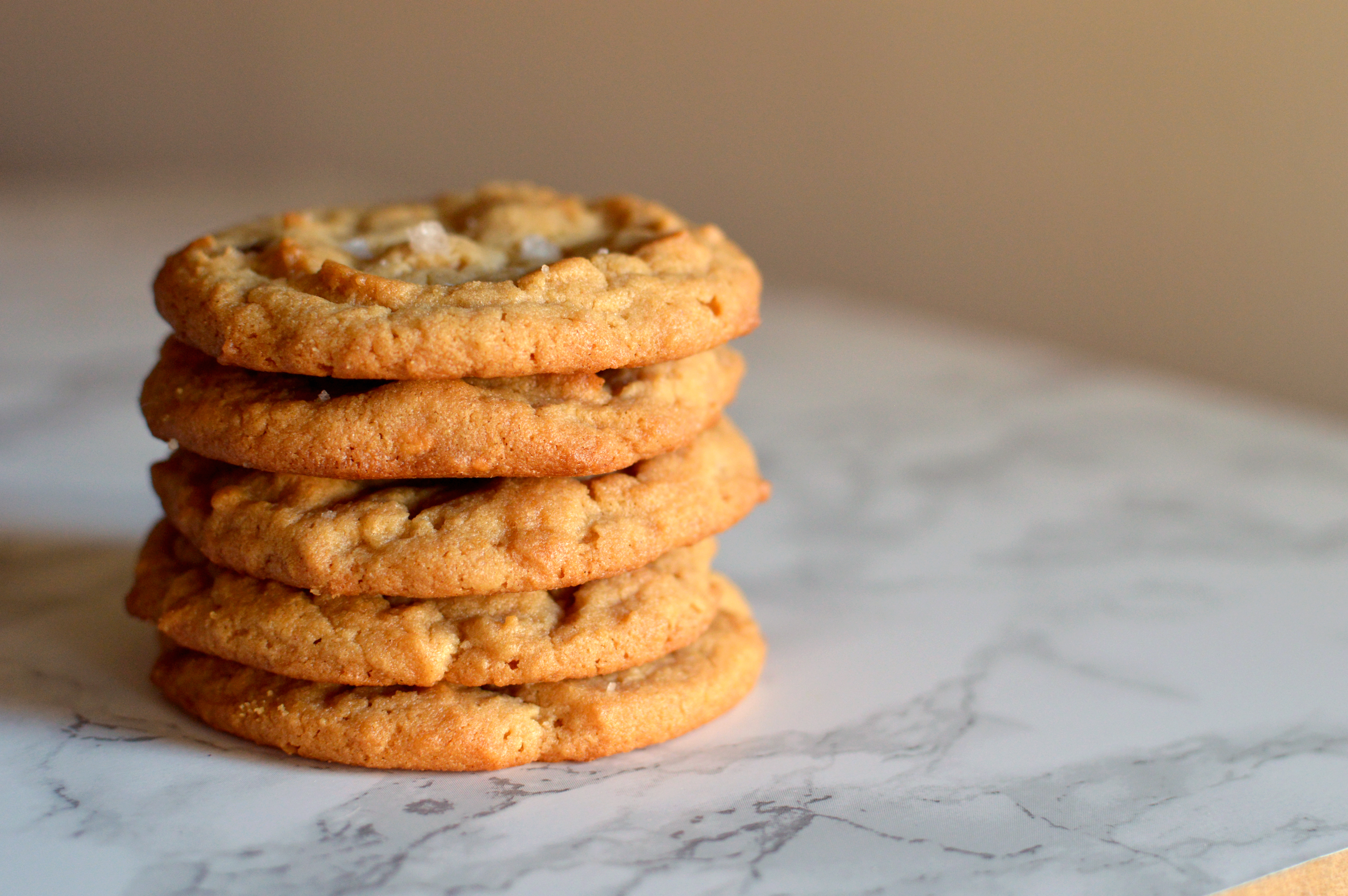 its only logical that we would close the year with a recipe from their christmas cookie selection - Christmas Peanut Butter Cookies