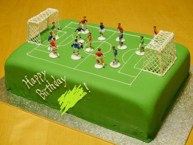 Football Chocolate Birthday Cake Weebirdies Café