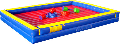 inflatable jousting game