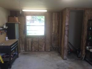 Inside needs finishing and windows