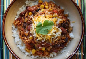 crockpot chicken chili soup