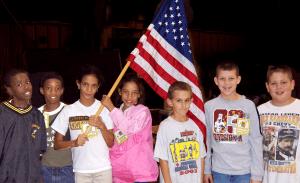 Kids Pledge at GNC