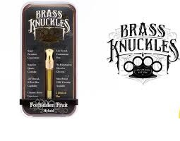 Buy Forbidden Fruit Full Gram Brass Knuckles Vape Cartridge