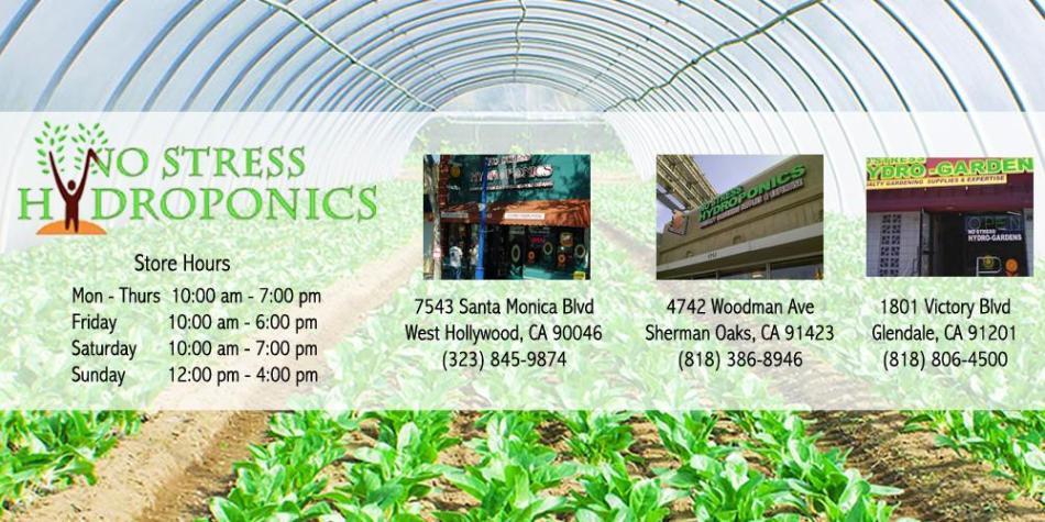 No Stress Hydroponics Sherman Oaks