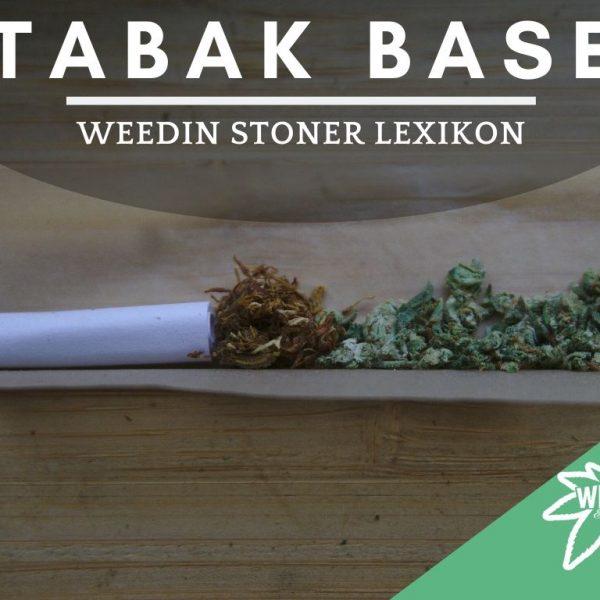 Was ist eine Tabakbase Weedin Stonerlexikon