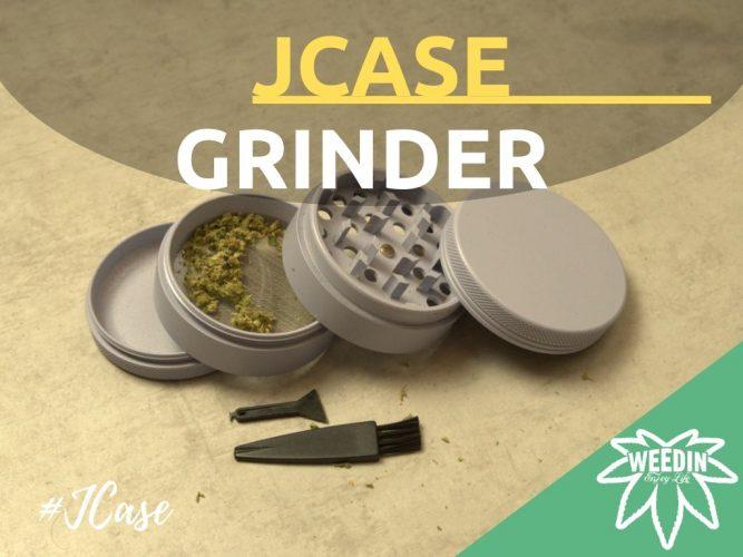 Jcase premium herb weed cannabis Grinder Keramik Review von Weedin