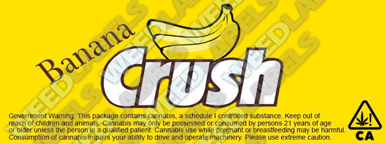 banana crush california
