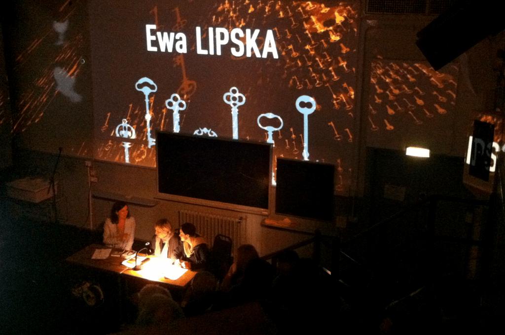 Ewa Lipska - architectural Projection mapping at Summerhall, Edinburgh