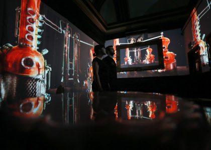 Immersive multi projection mapping experience, Fringe Edinburgh