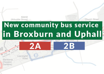 New community bus service for people with disabilities in West Lothian