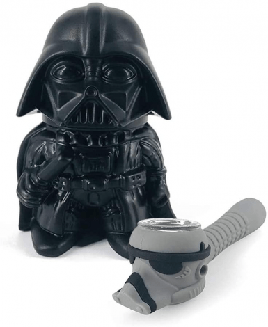Darth Vader Grinder and Pipe Accessory available at Weedsies