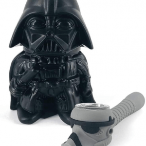 2-Piece Star Wars Grinder Set, Darth Vader Herb Grinder,Stormtrooper Piece Unbreakable Silicone,Birthday Gift For Husband, Boyfriend, Brother