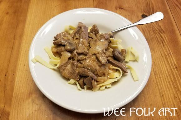 Russian Beef Stroganoff Recipe