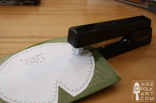 cuttingfelt staplewm - Como cortar o feltro