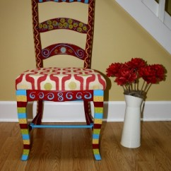 Funky Wooden Chairs Folding For Kids Finished Chair Wee Folk Art