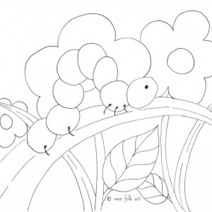 easy of flare Colouring Pages