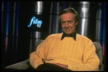 Barry Norman, the cinema critic on the television programme 'Film 92'.