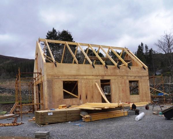 Timber Frame Kit Weehighlandhouse - 28