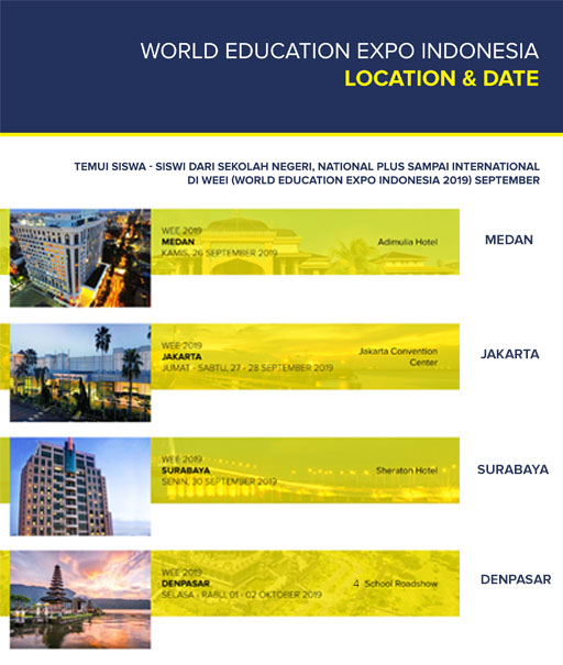 World Education Expo Indonesia 2019 Weei2019