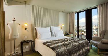 Chambre Superieure du Memmo Principe Real - Hotel 5 etoiles - Lisbonne