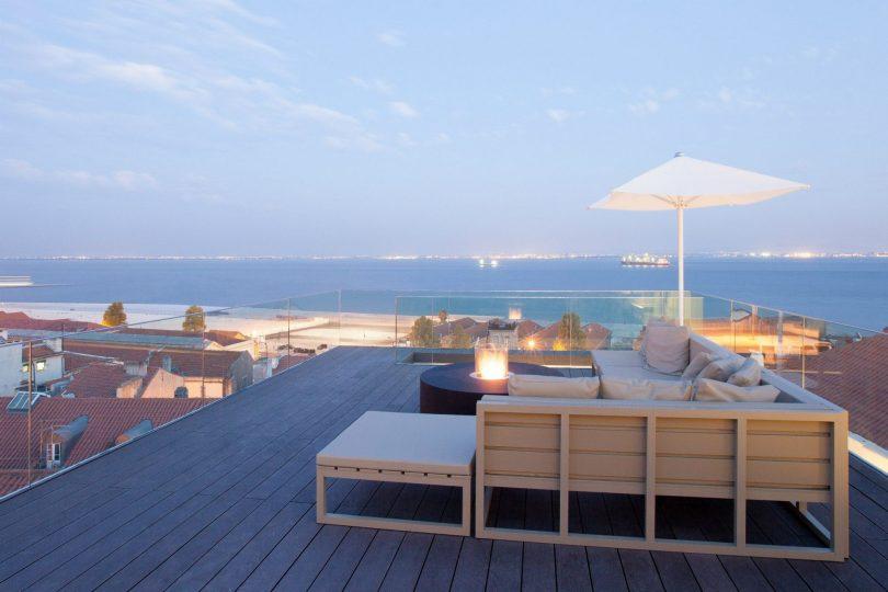 Memmo Alfama - Bar et Terrasse avec vue - Hotel Lisbonne