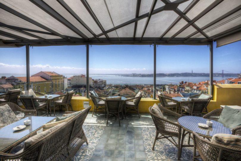 Terrace BA - Bar terrasse du Bairro Alto Hotel - Lisbonne