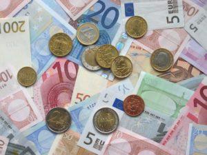 Pieces et monnaie en euros