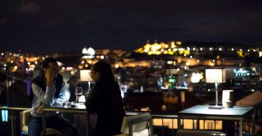Silk Club - Night Club -Terrasse - Rooftop - Vue Lisbonne