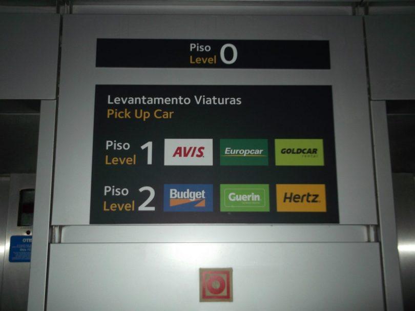 Compagnies de location de véhicules situées dans l'aéroport de Lisbonne