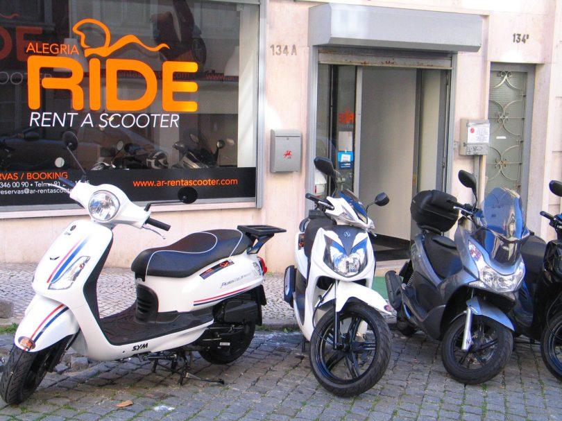 Alegria Ride - Lisbonne