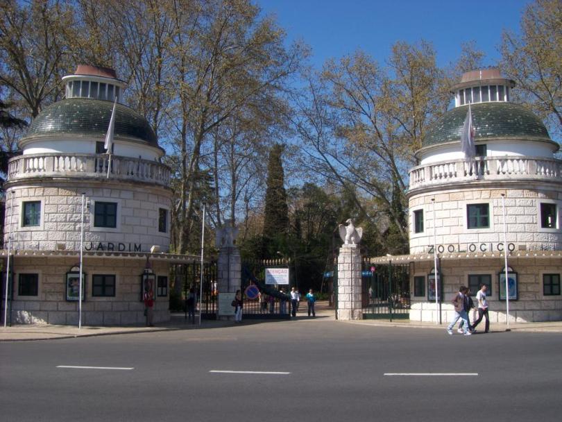 Entrée du Zoo de Lisbonne