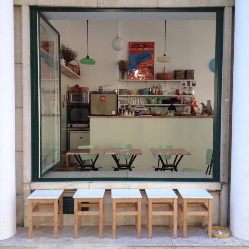 A Luz Ideal - Café Culturel - Lisbonne
