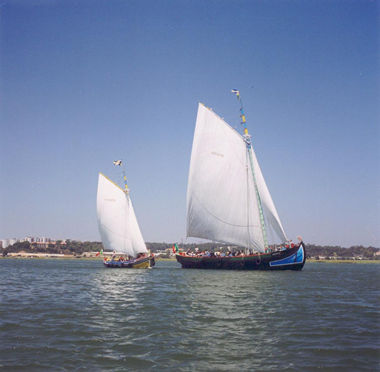 bateau Amoroso - Seixal - Lisboa - Portugal