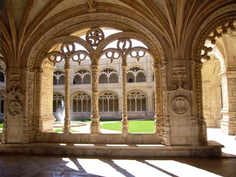 Cloitre du Monastere des Hieronimytes - Magnifique monument de Lisbonne