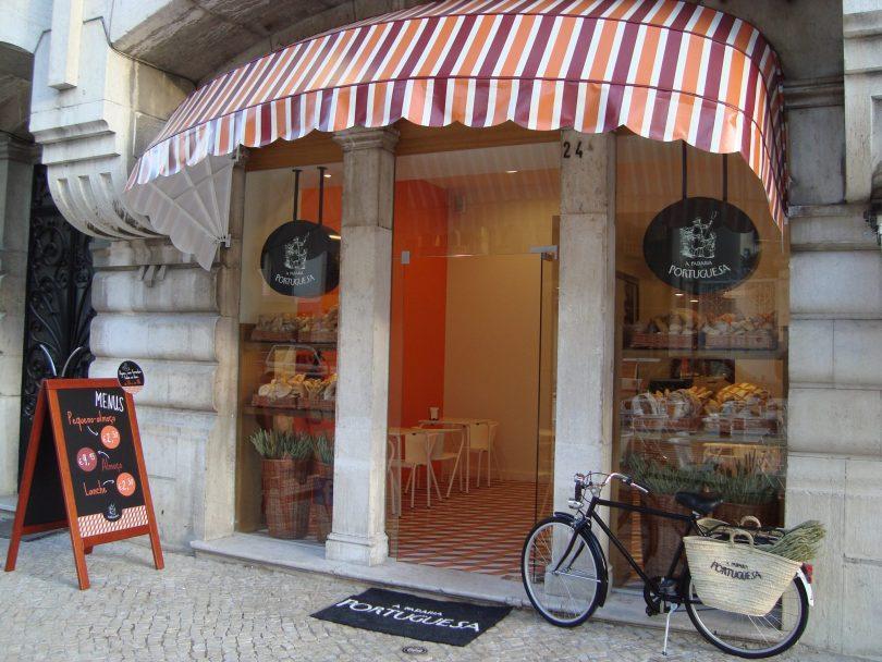 Devanture boutique A Padaria Portuguesa - Lisbonne