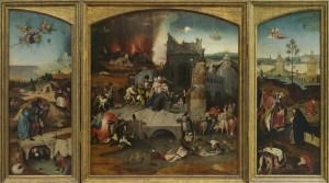 La Tentation de Saint Antoine - Jérôme Bosch - Musée de l'Art Ancien - Lisbonne