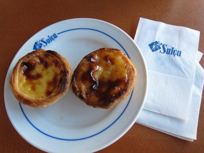 Pastel de Nata - Pastelaria Suiça - Lisbonne