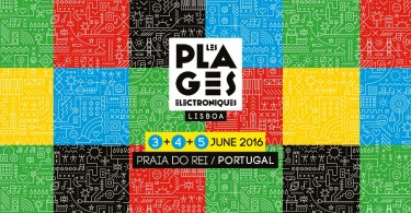 Affiche Les Plages Electroniques Lisboa 2