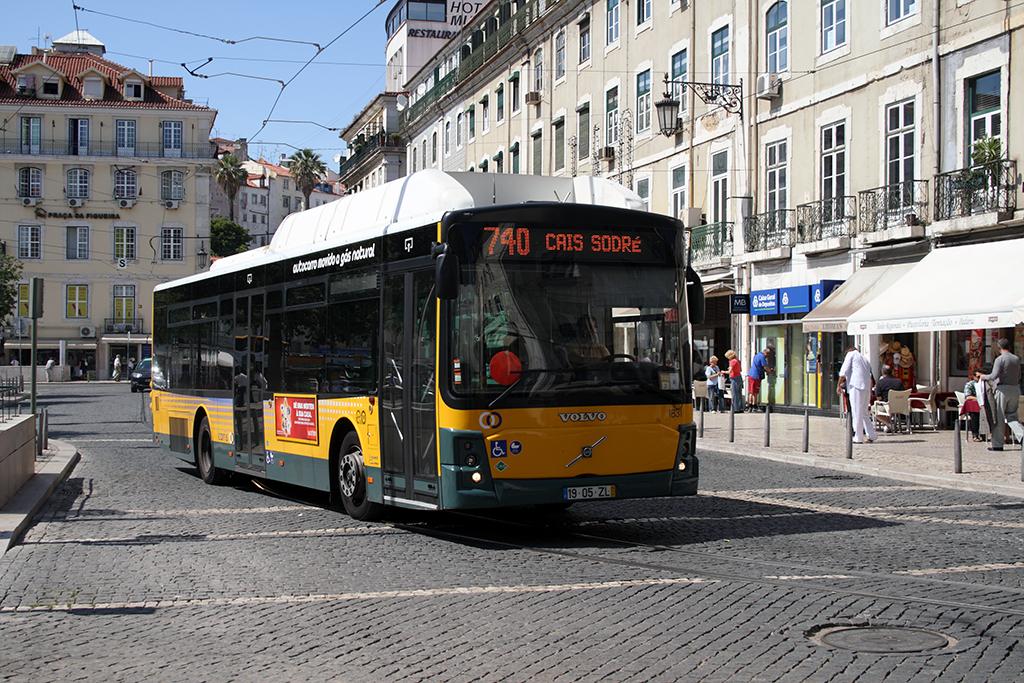 Les Bus De La Compagnie Carris Occupent Un Parcours 670 Kilomtres Dont 65 Sont Des Voies Rserves