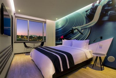 Chambre HF Fenix Music - Hotel 3 etoiles - Lisbonne