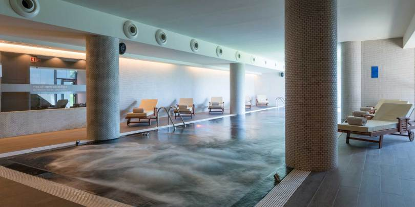 Piscine intérieure Tryp Lisboa Aeroporto - Hotel 4 étoiles - Lisbonne