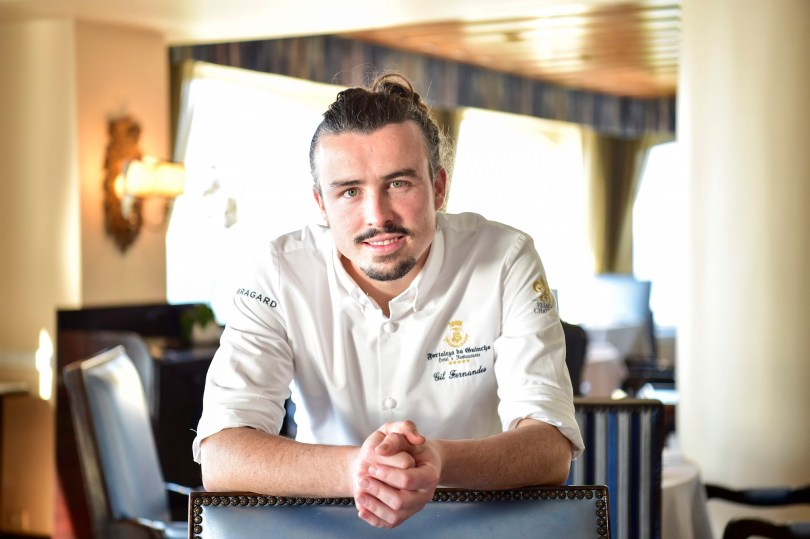 Gil Fernandes - Chef 1 etoile - Restaurant Fortaleza do Guincho - Cascais - Lisbonne
